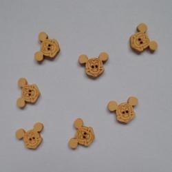 Nasturi lemn Mickey Mouse
