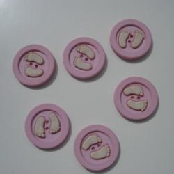 Nasturi talpite roz